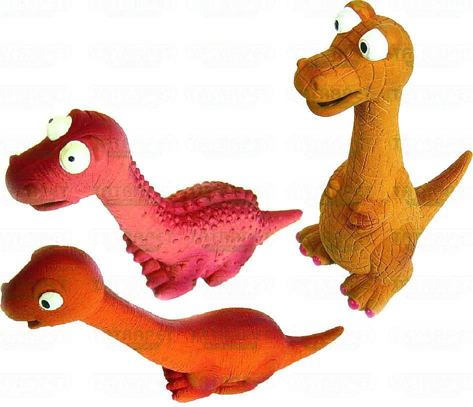 Hračka dinosaurus latex 19-30cm