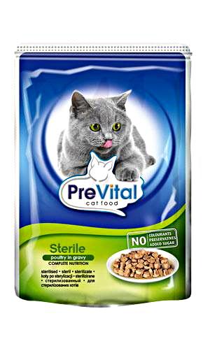PreVital kapsa 100g sterilizovaná kočka /24/