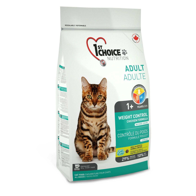 1st Choice cat 2,72kg - kontrola váhy, kastrované.