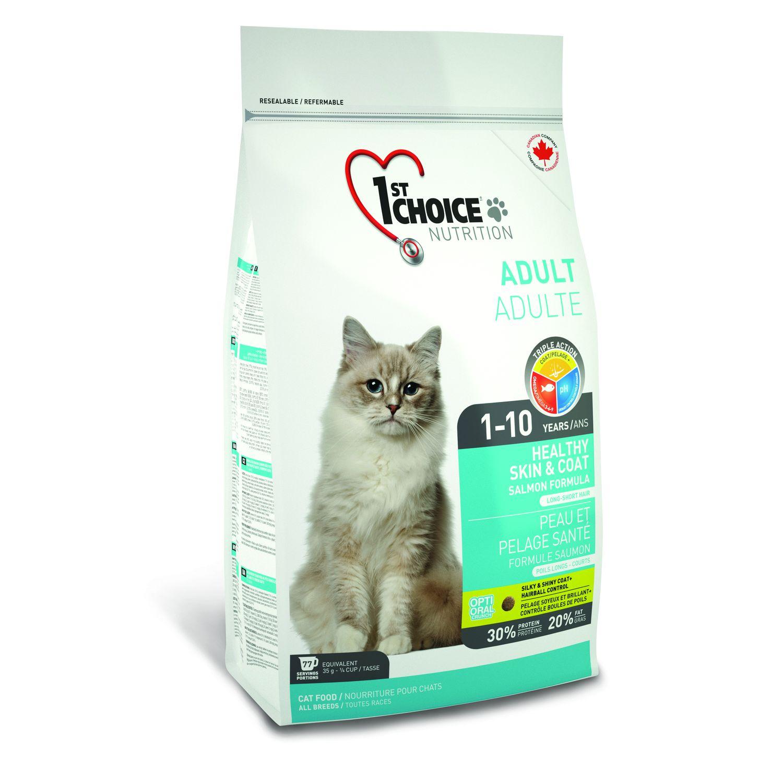 1st Choice kočka  2,72kg - Zdravá kůže a srst
