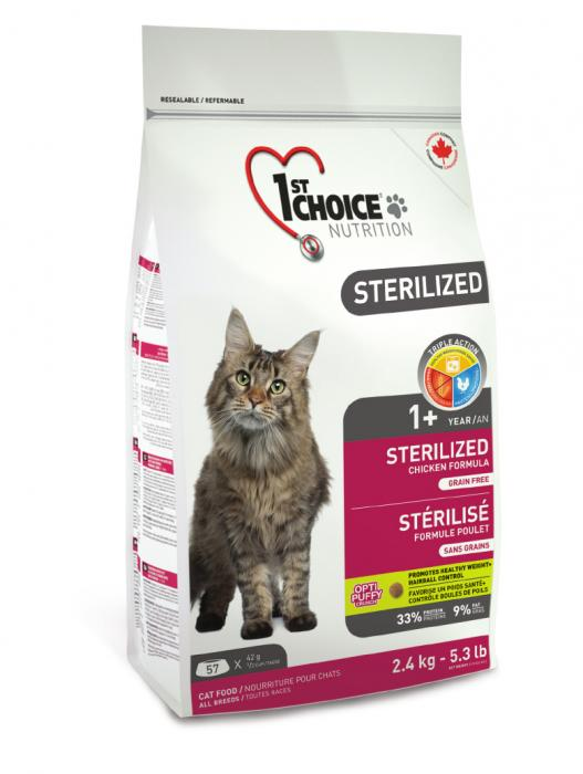 1st Choice cat 2,4kg sterilized