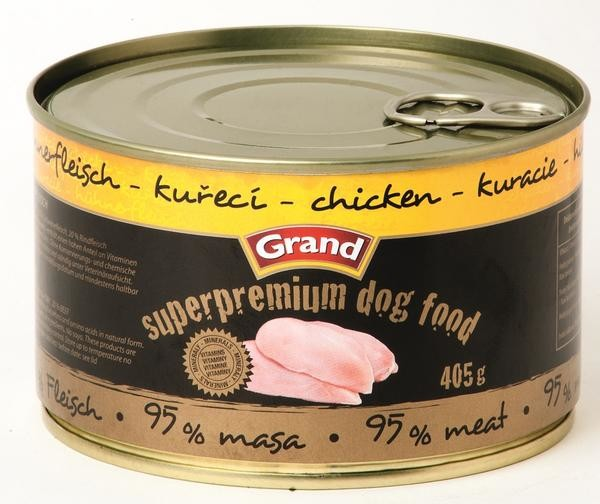 Grand Super Premium pes kuřecí 405 g /6/