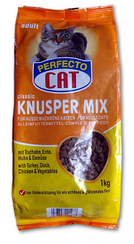 Perfecto cat Krůta, kachna, kuře a zelenina 1kg /6/