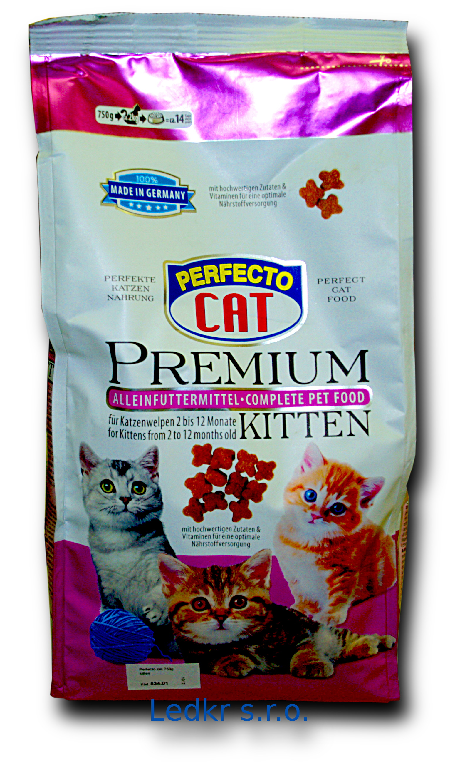 Perfecto cat kitten 750g  /6/