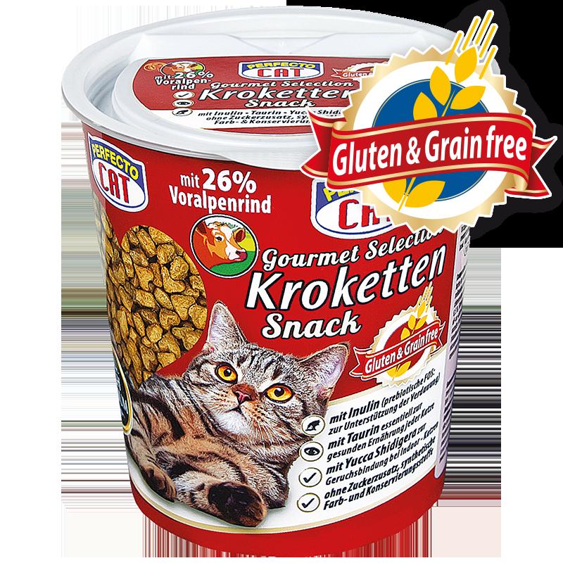 Perfecto cat kroketky hovězí 125g - grain free /8/