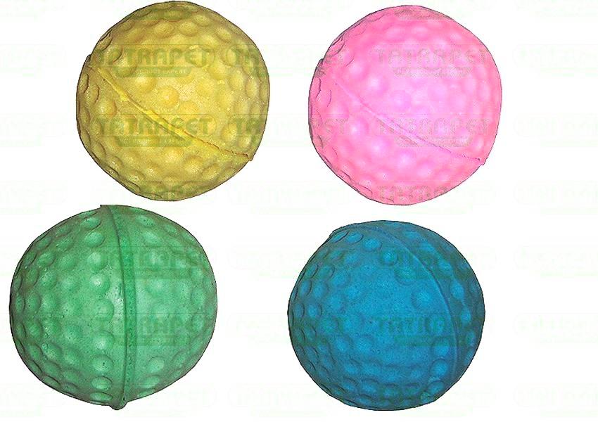 Hračka míč mechová guma 4,5cm
