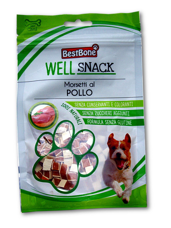 Best Bone well snack 75g kuřecí kostičky /12/