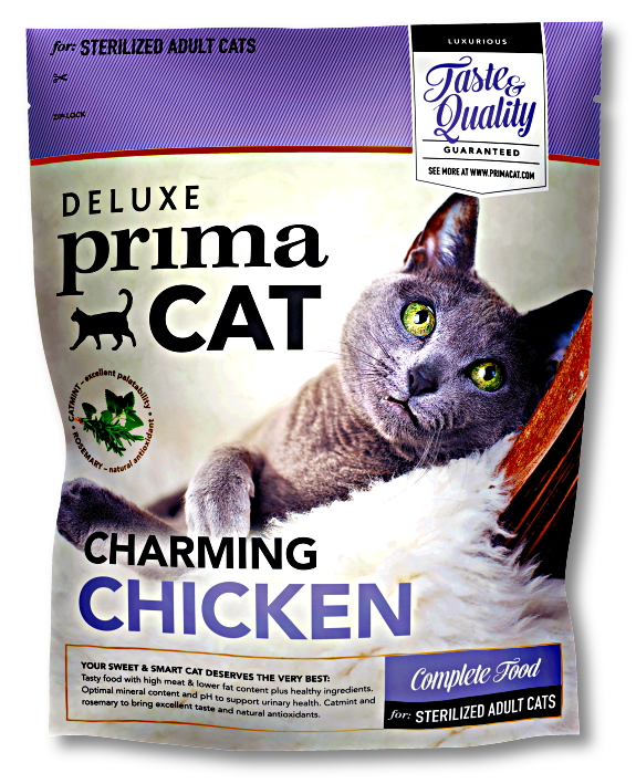 DeLuxe Prima Cat Adult Sterilized Charming Chicken 1,4kg  /8/