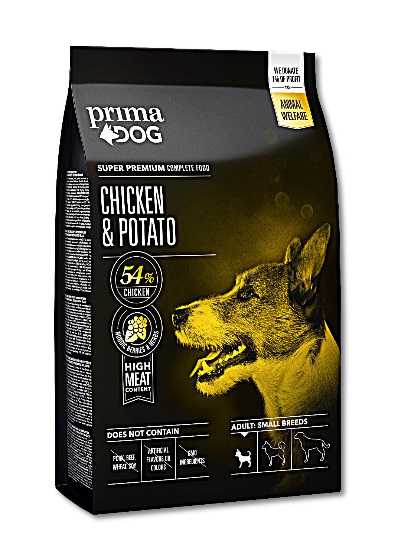 Prima Dog Mini Adult Breeds Chicken & Potato 1,5kg  /8/