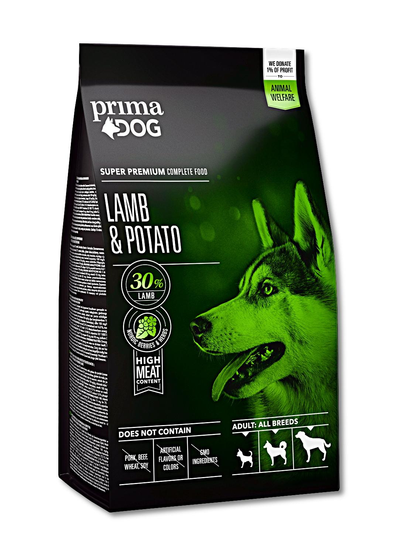 Prima Dog Adult All Breeds Sensitive Lamb & Potato 12kg