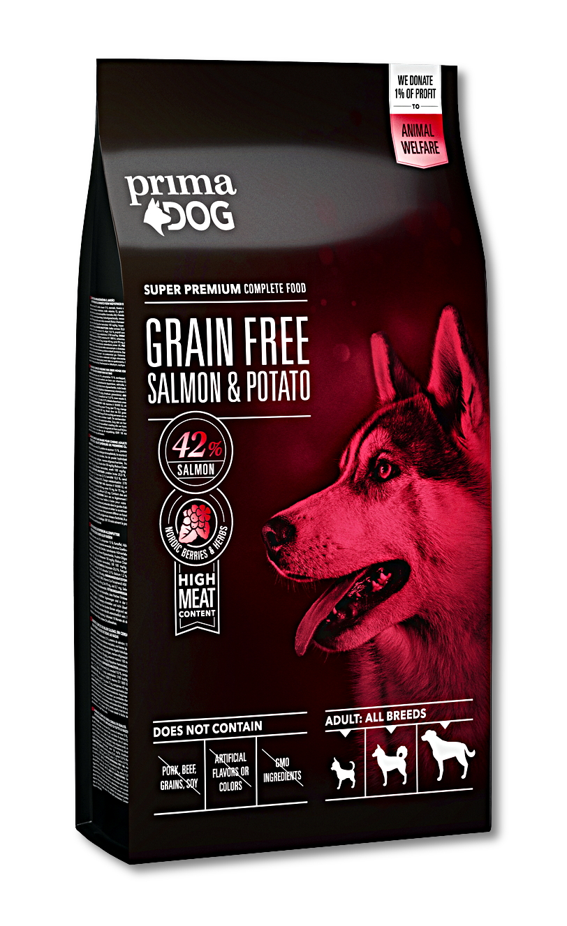Prima Dog Salmon & Potato Sensitive Grain Free 10kg