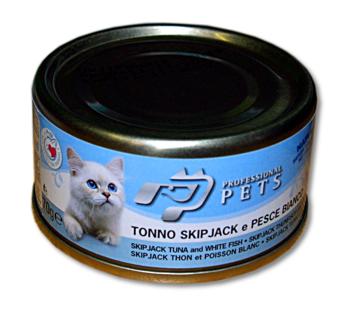 Professional Pets cat 70g Tuňák s bílou rybou /24/