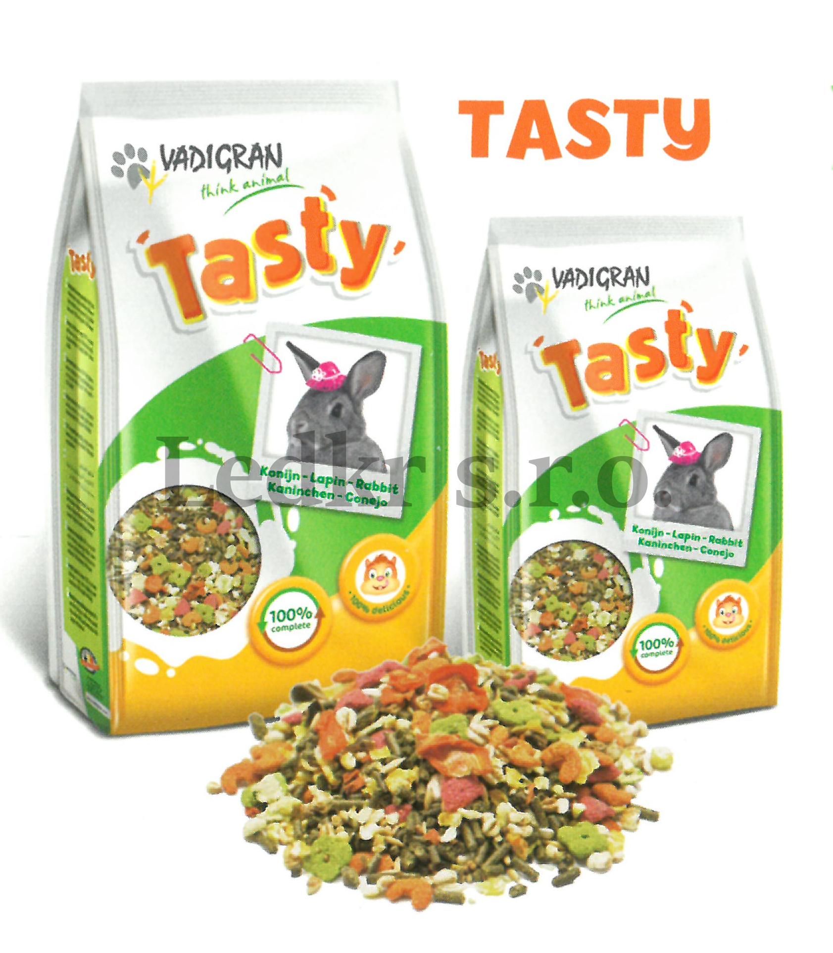 Vadigran Tasty pro králíky 4,5 Kg