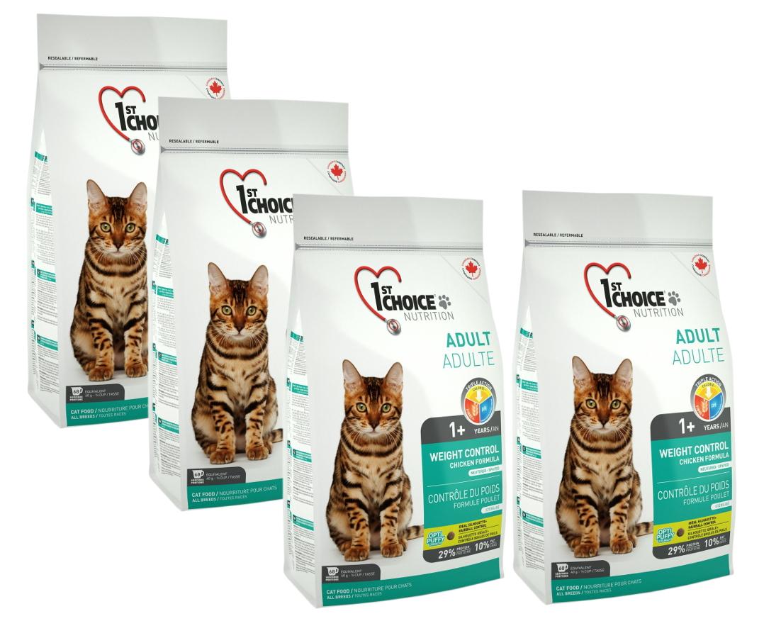 1st Choice cat 5,44 Kg- kontrola váhy, kastrované